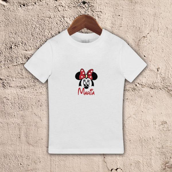 Minnie, nume fetita- tricou copii, brodat, lws 1949