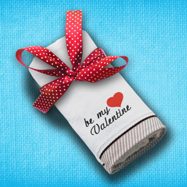 Be my Valentine – prosop brodat lws 1536